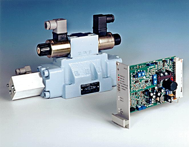 Van phân phối tỷ lệ,  điện điều khiển Size: 6..10 Áp suất: 315 bar (max)
