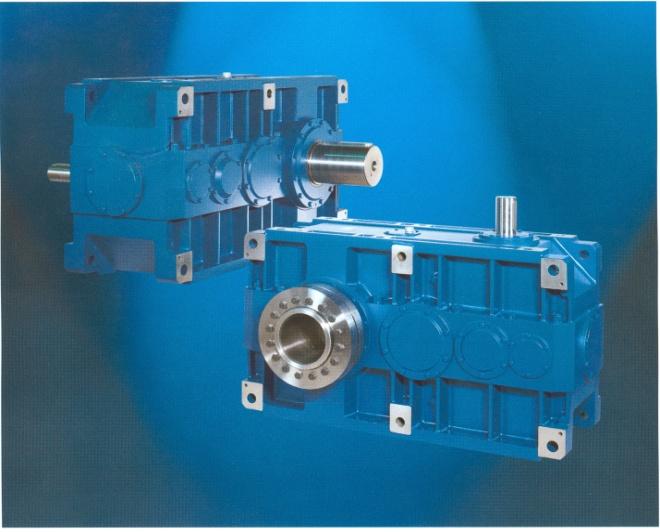 Hộp giảm tốc, động cơ liền hộp giảm tốc loại trục song song&vuông góc: H02