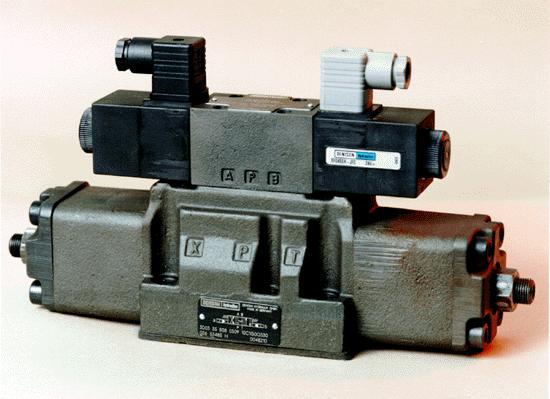 Van phân phối điều khiển điện  gián tiếp